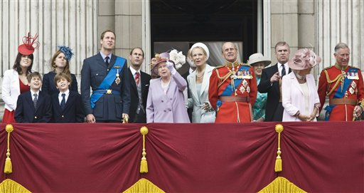 Britain Trooping The Colour